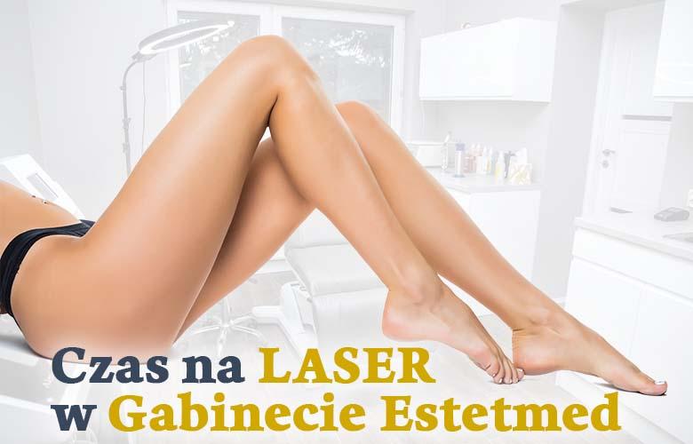 Czas na depilację laserową w Estetmed