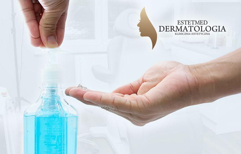Dostępne środki do dezynfekcji rąk