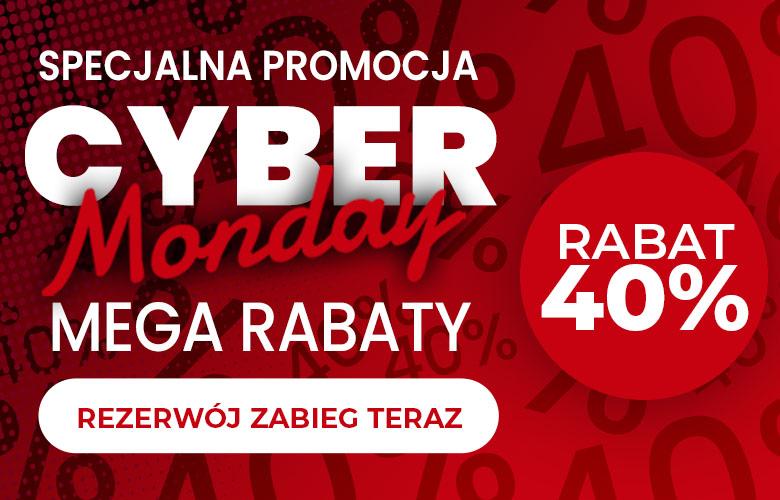 Promocja z okazji Cyber Monday 2020