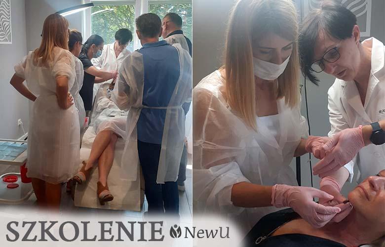 Szkolenie z implantacji nici Newu w Estetmed | Aktualności